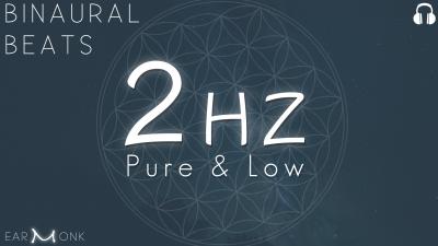 2Hz Delta Binaural Beats Low