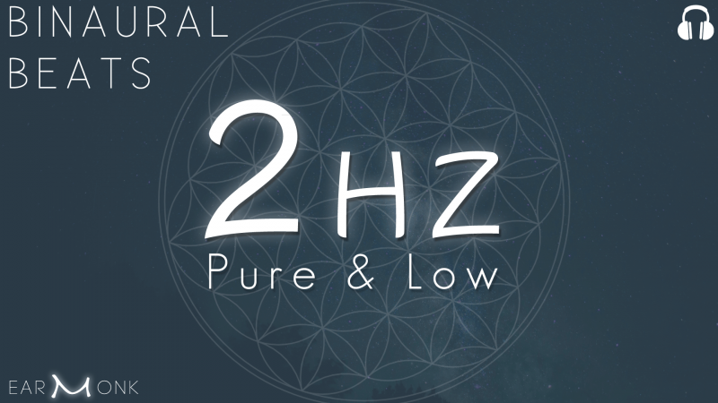 2Hz Delta Binaural Beats Low