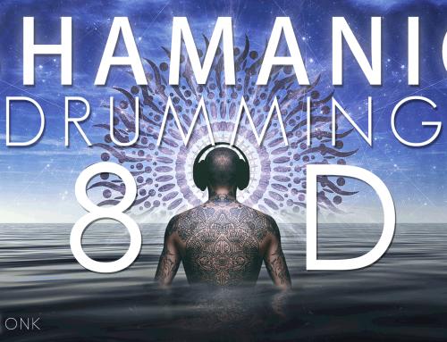 8D Audio – Shamanic Drumming + Didgeridoo + Fire